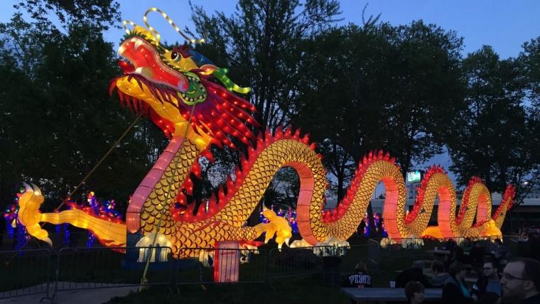 ¿Qué festejos se suelen realizar en el año nuevo chino?