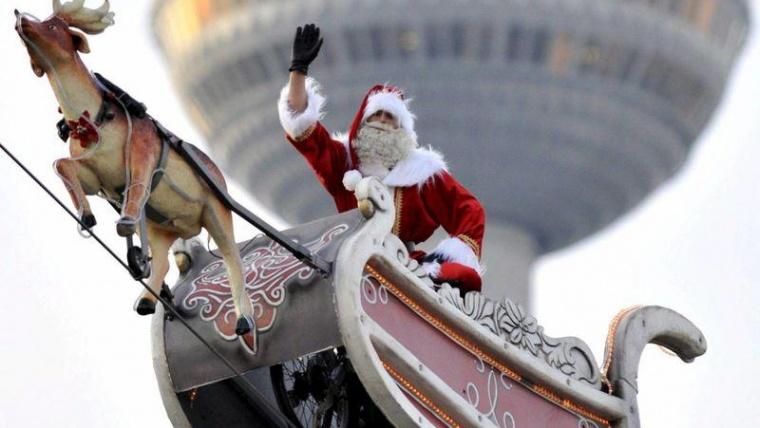 Sigue a Papa Noel en su viaje por el mundo: ¡Síguele la pista!