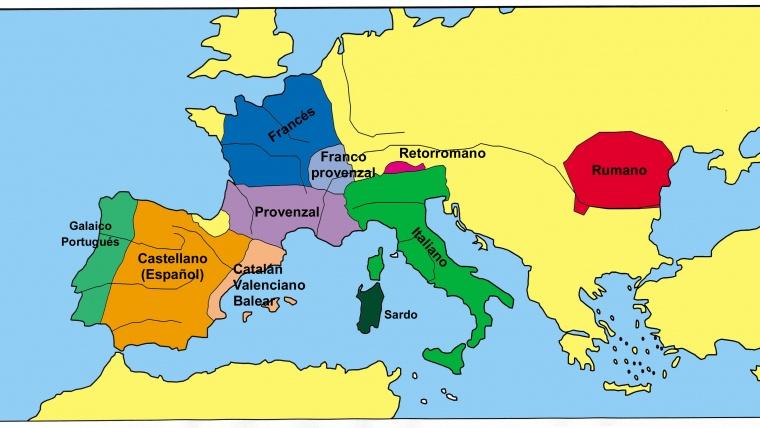 ¿Qué acontecimiento histórico favoreció el surgimiento de las lenguas romances?