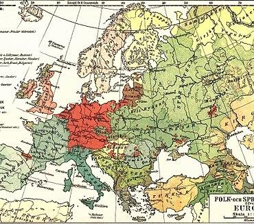 ¿De qué idiomas derivan las lenguas del occidente europeo?